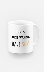 Mug Girls just wanna have sun