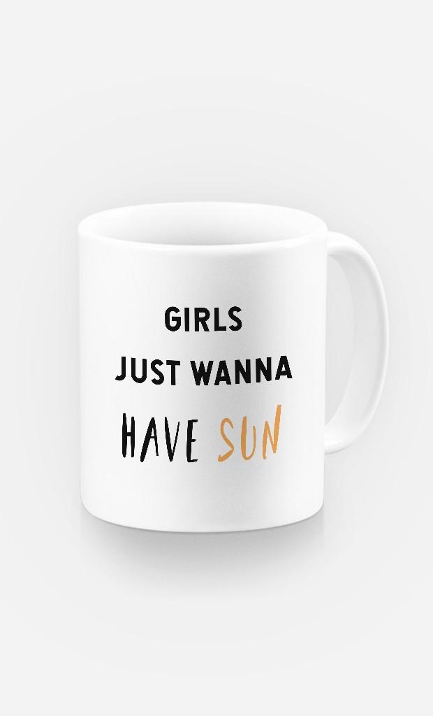 Mug Girls just wanna have sun
