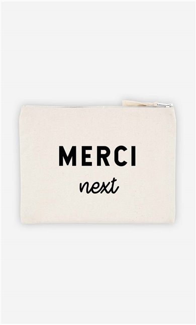 Pochette Merci Next
