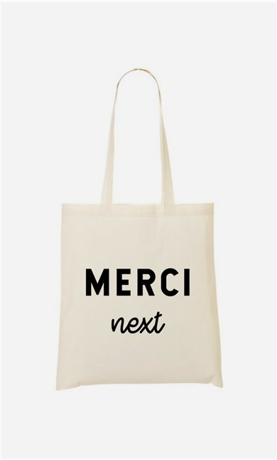 Tote bag Merci Next