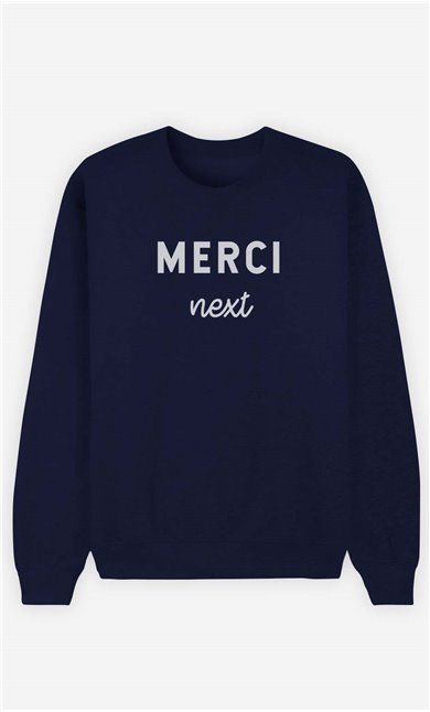 Sweat Femme Merci Next