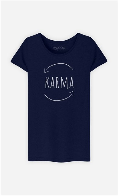 T-Shirt Femme Karma