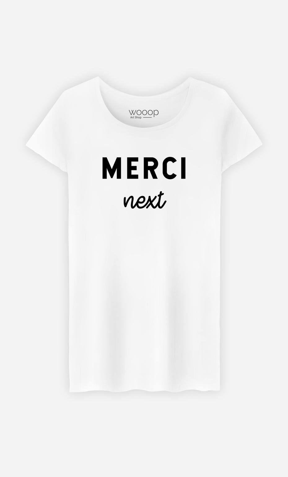 T-Shirt Femme Merci Next