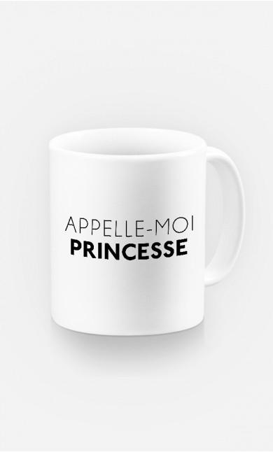 Mug Appelle-Moi Princesse