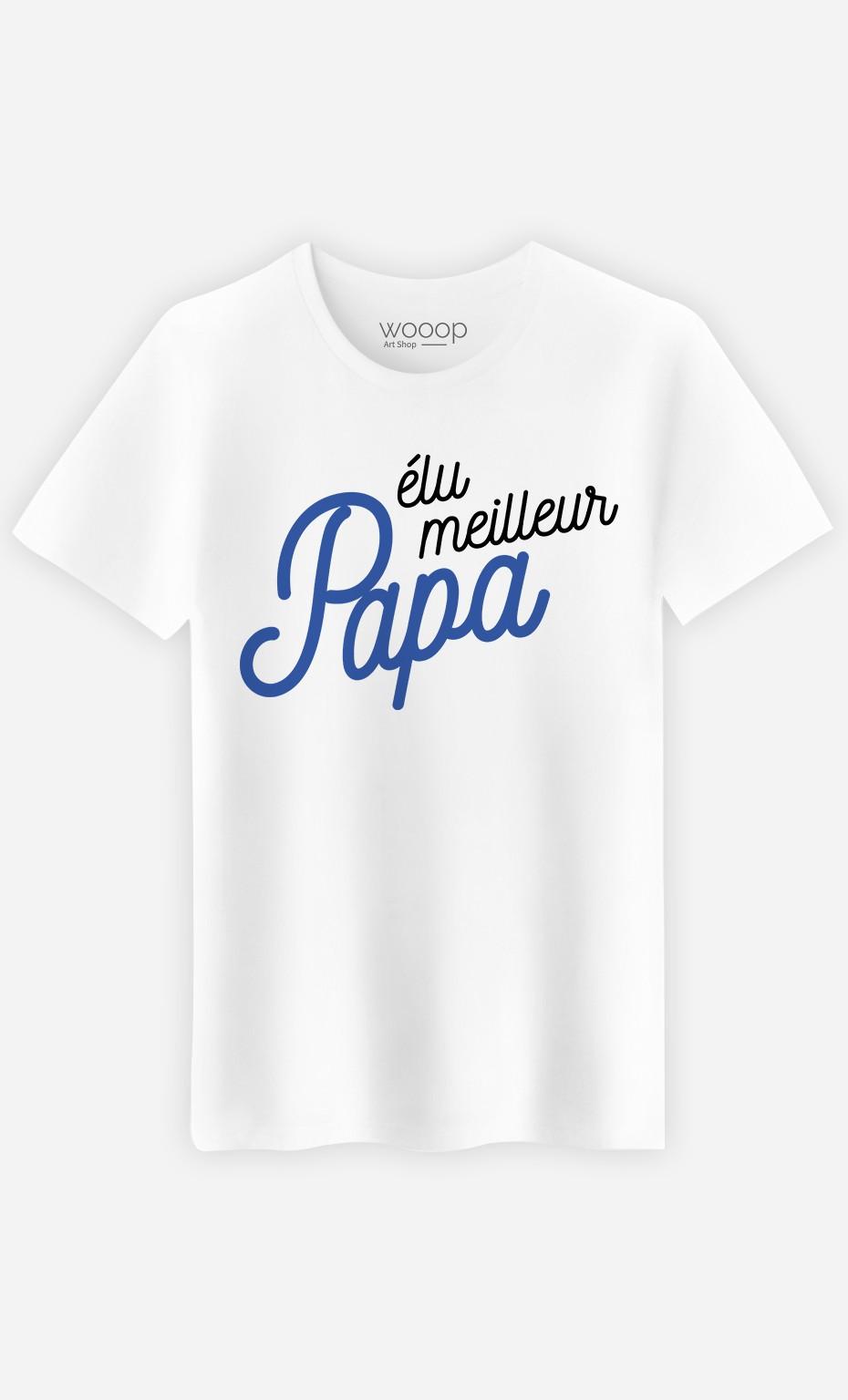 T-Shirt Homme Elu meilleur papa