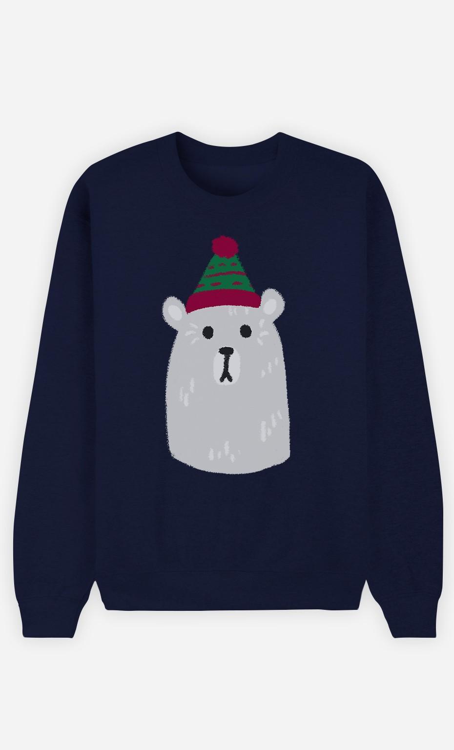 Sweatshirt Femme Teddy