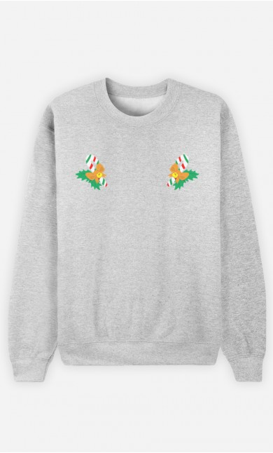 Sweatshirt Femme Sucres d'Orge