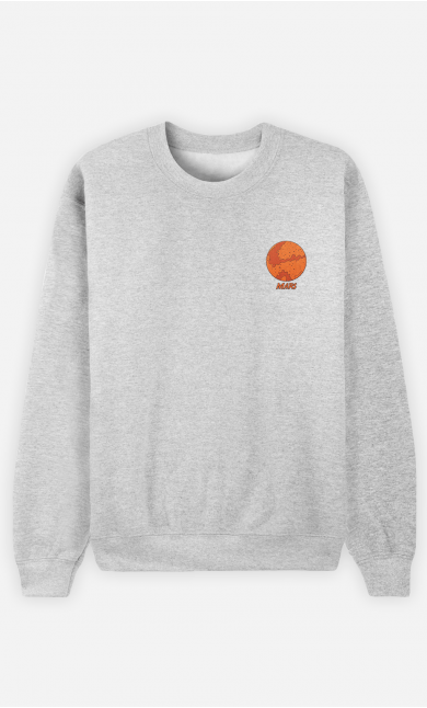 Sweat Homme Mars - brodé