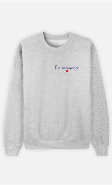 Sweatshirt Femme La Mama