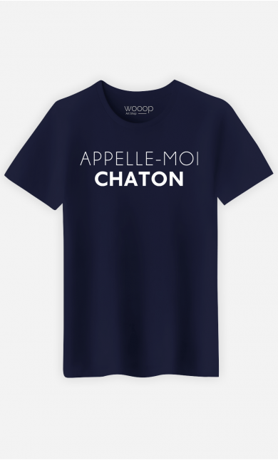 T-Shirt Homme Appelle moi chaton