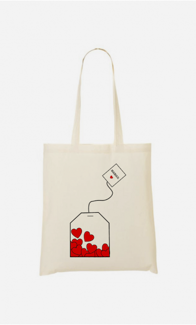 Totebag Mom Love Tea