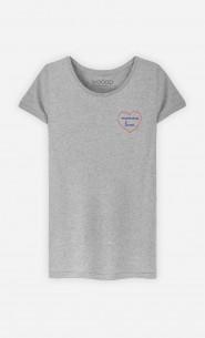 T-Shirt Femme Mamma Lova - Brodé