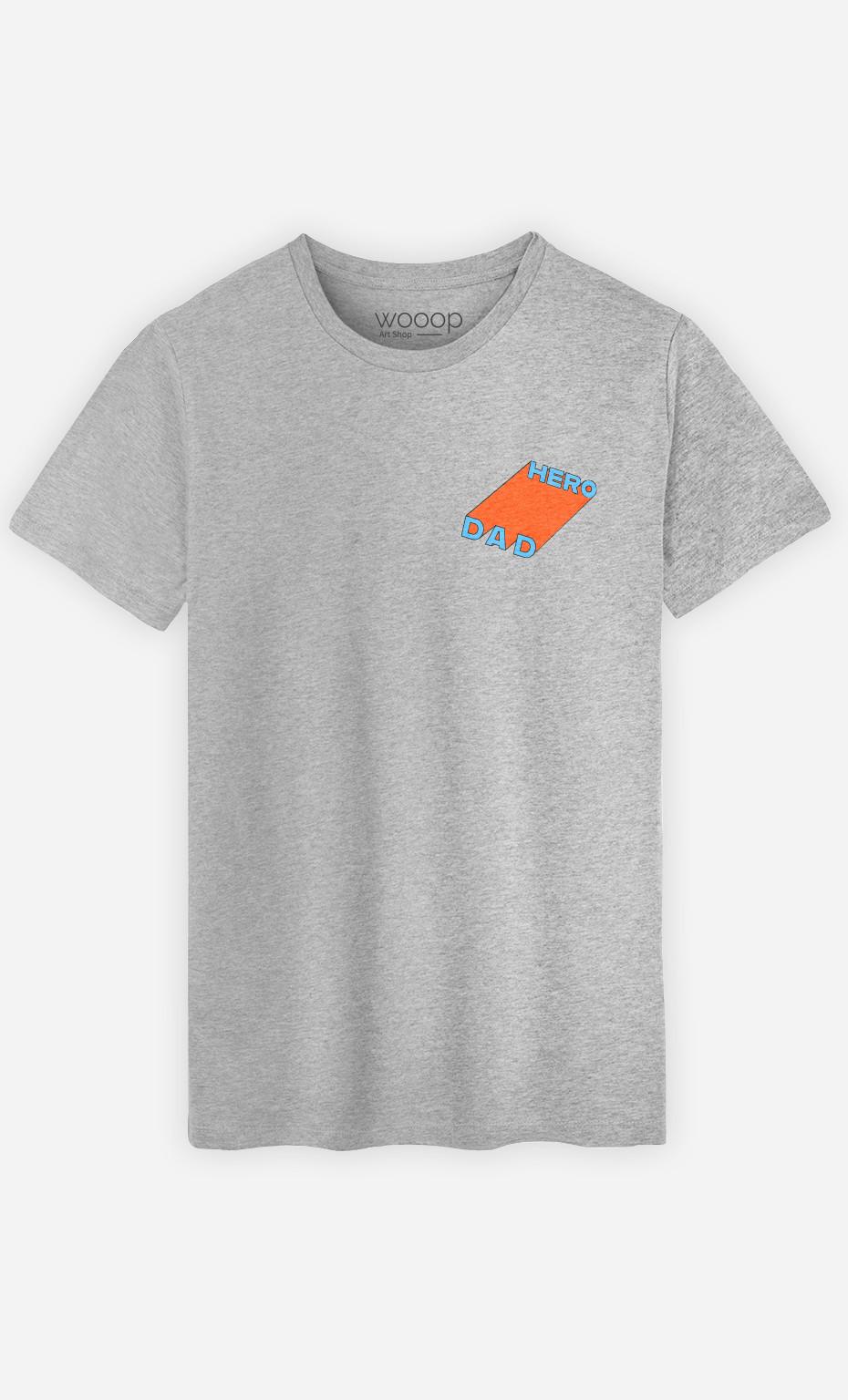 T-Shirt Homme Dad Hero
