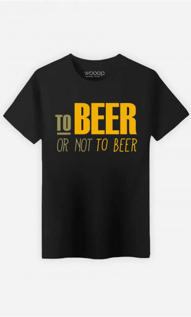 T-Shirt Homme To beer or not to beer