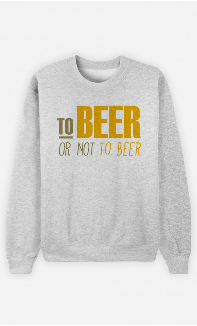 Sweat Homme To beer or not to beer