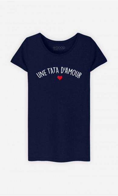 T-shirt Femme Une tata d'amour