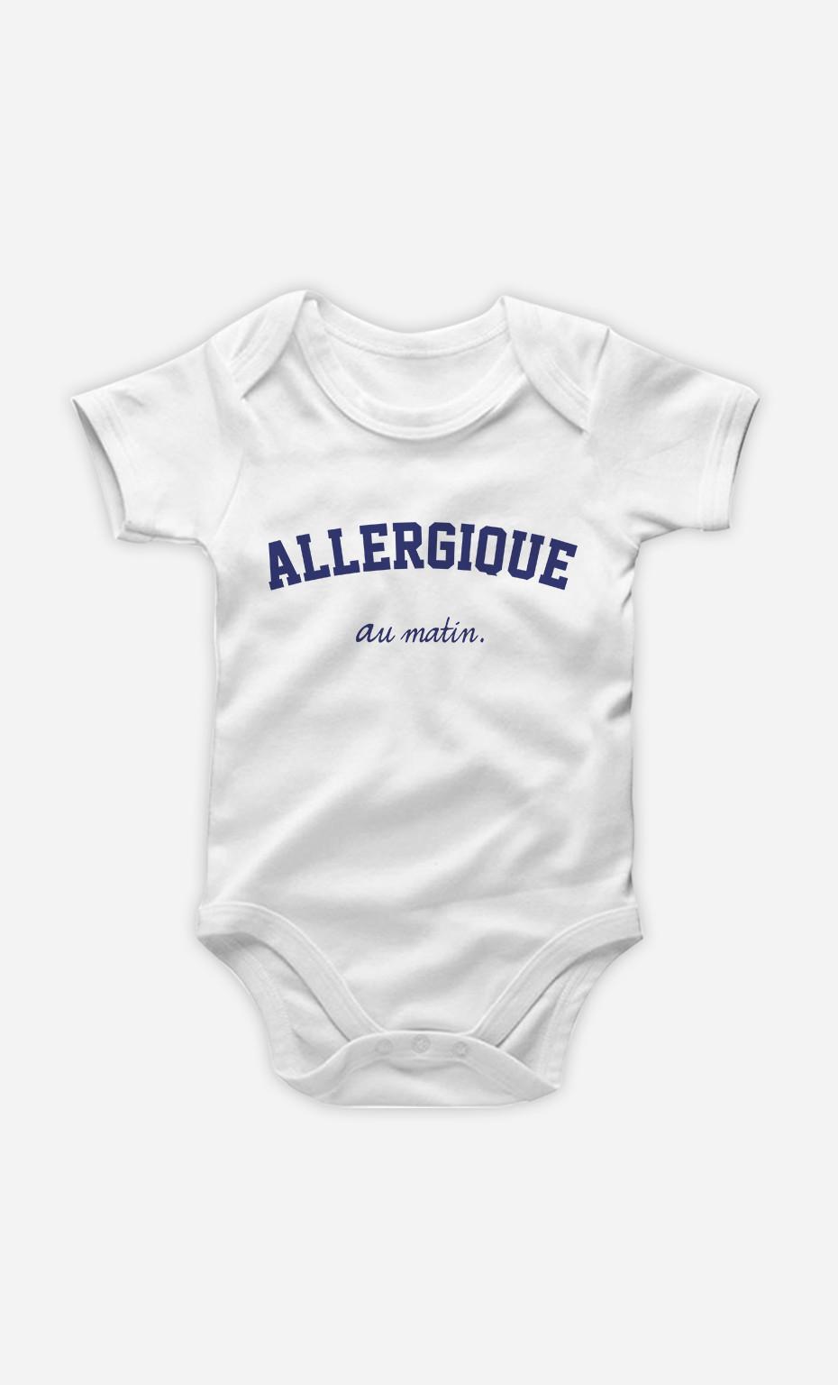 Body Bébé Allergique Au Matin