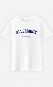 T-Shirt Enfant Allergique Au Matin