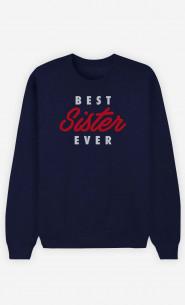 Sweat Femme Best Sister Ever
