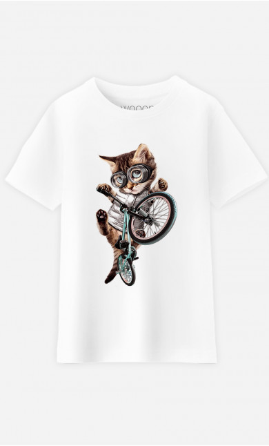 T-Shirt Enfant BMX Cat