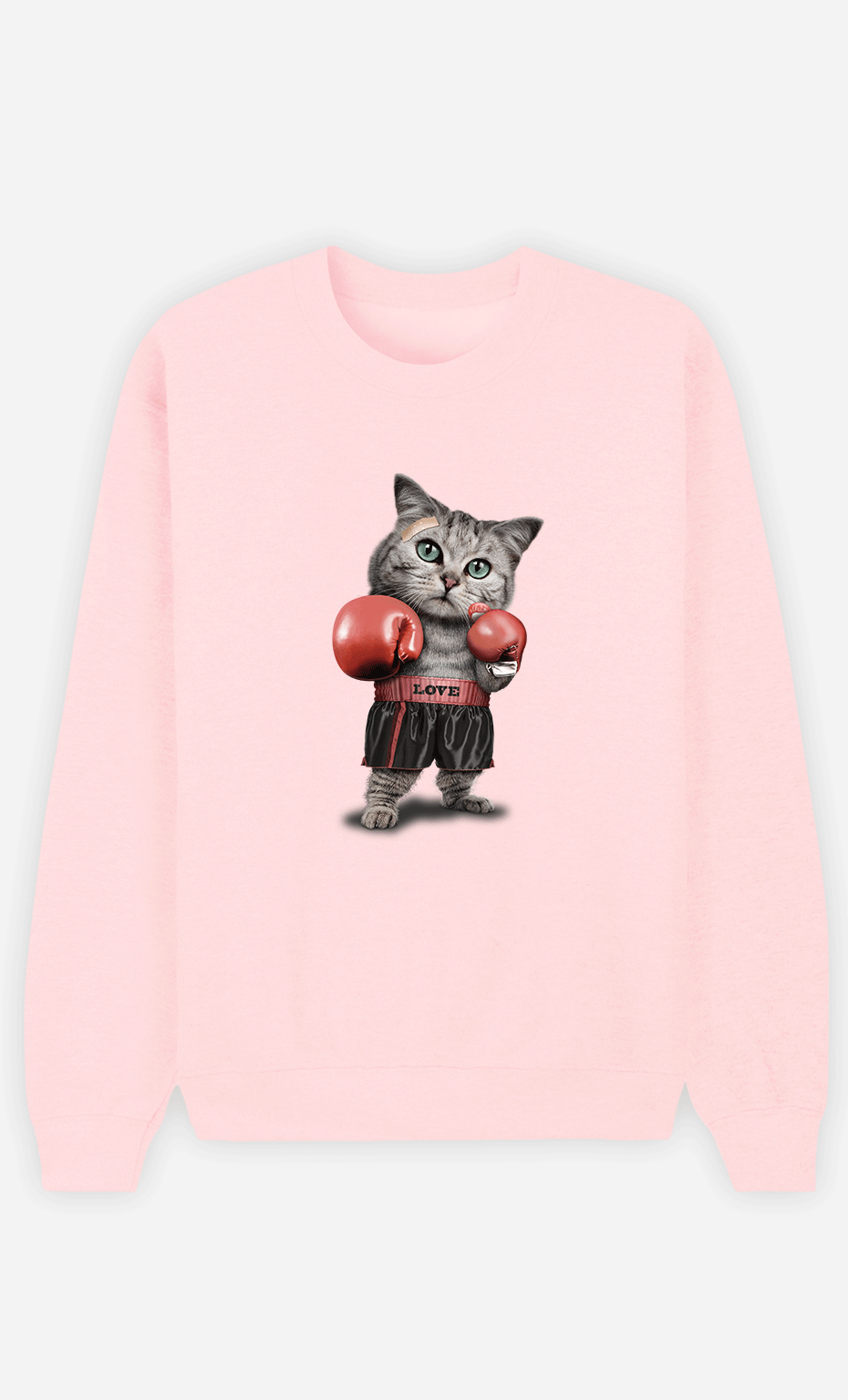 Sweat Femme Boxing Cat