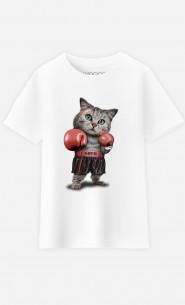 T-Shirt Enfant Boxing Cat