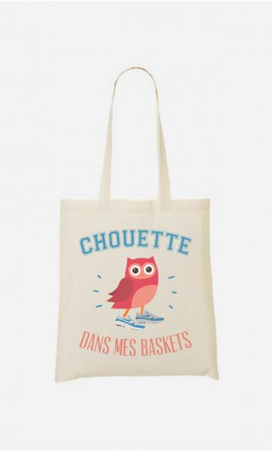 Tote bag Chouette Dans Mes Baskets