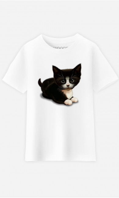 T-Shirt Enfant Cute Cat