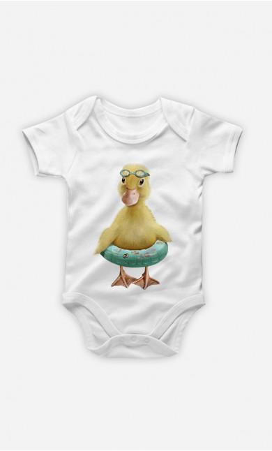 Body Bébé Duck Bouée