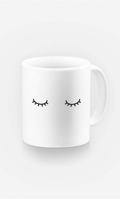 Mug Eyes Closed