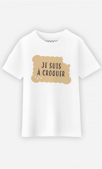 T-Shirt Enfant Je Suis A Croquer