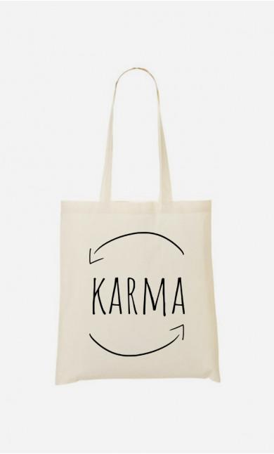 Tote bag Karma