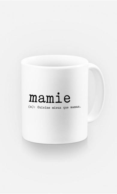 Mug Mamie Définition