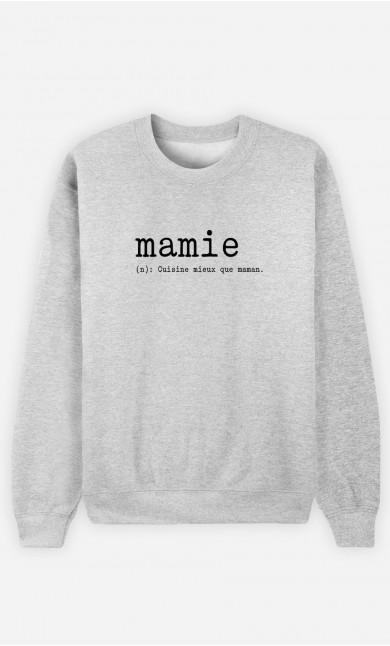 Sweat Femme Mamie Définition