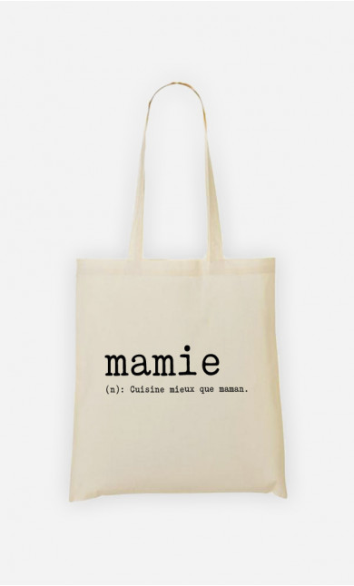 Tote bag Mamie Définition