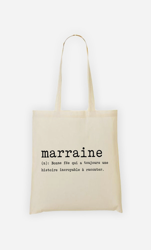 Tote bag Marraine Définition