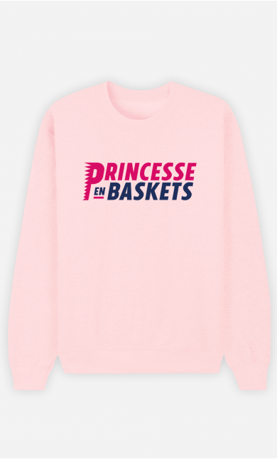 Sweat Femme Princesse En Baskets