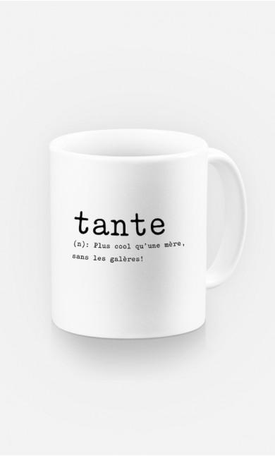 Mug Tante Définition