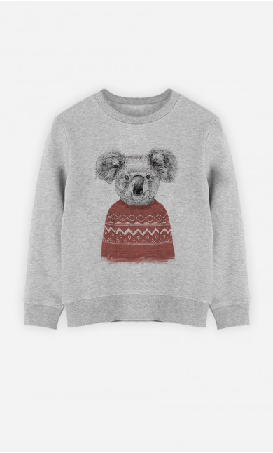 Sweat Enfant Winter Koala