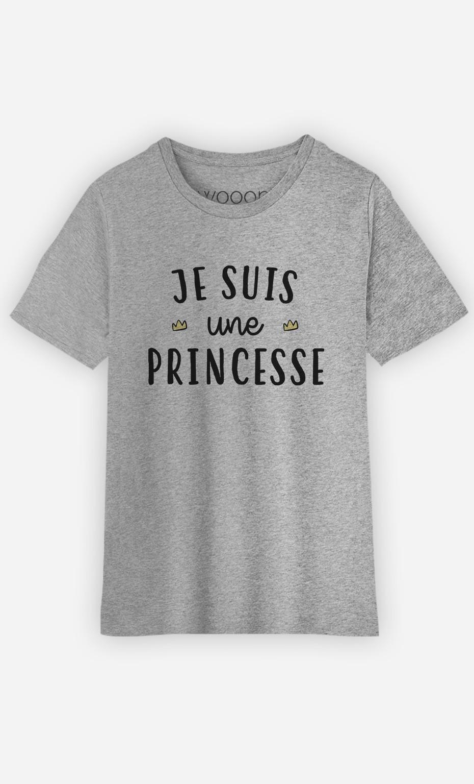 T-Shirt Enfant Je Suis Une Princesse