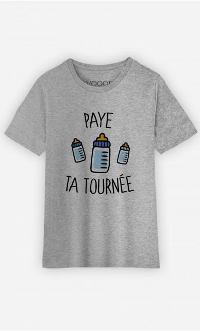 T-Shirt Enfant Paye Ta Tournée