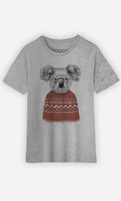 T-Shirt Enfant Winter Koala