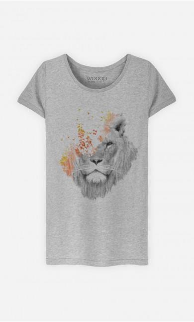 T-Shirt Femme If I Roar