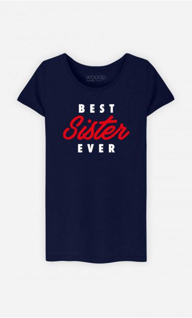 T-Shirt Femme Best Sister Ever