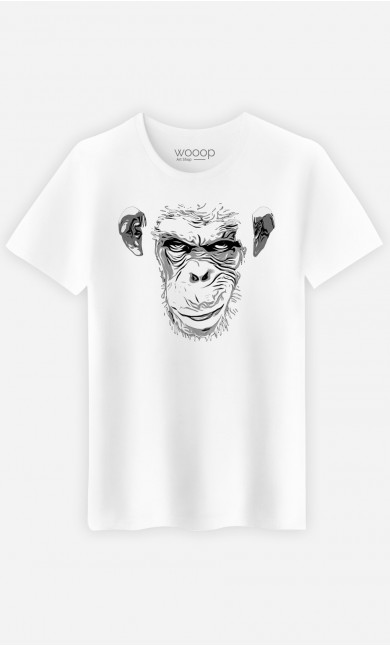 T-Shirt Homme Evil Monkey