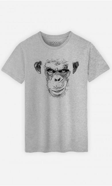 T-Shirt Homme Evil Monkey