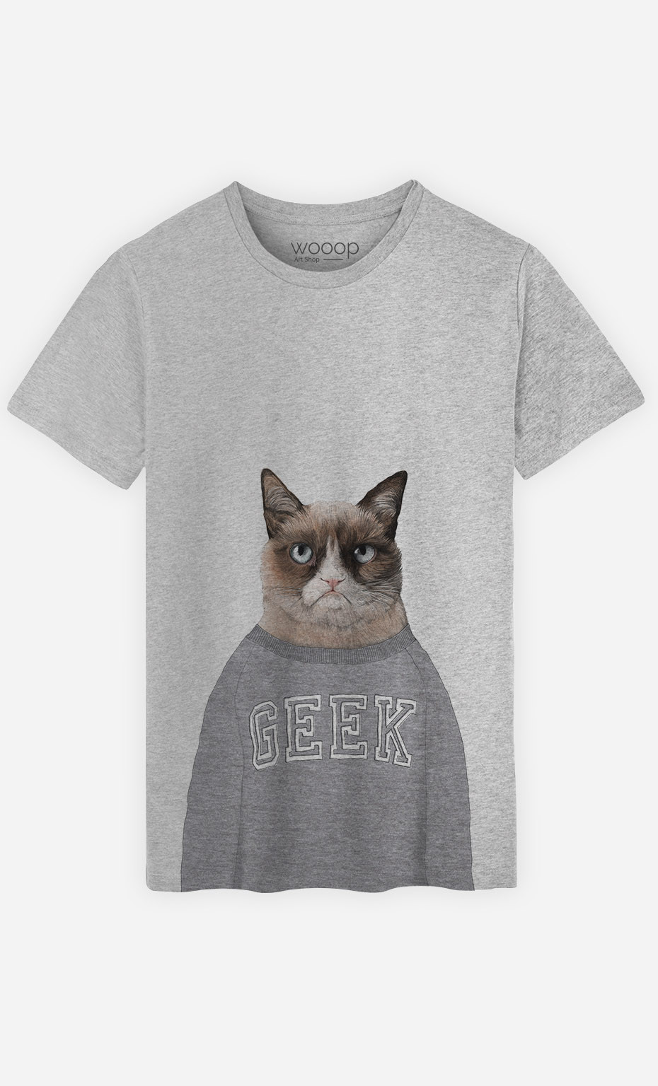 T-Shirt Homme Grumpy Cat
