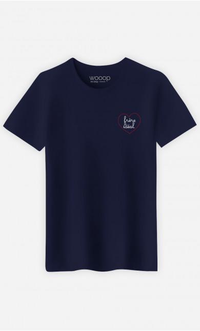T-Shirt Homme  Frère Idéal Cœur