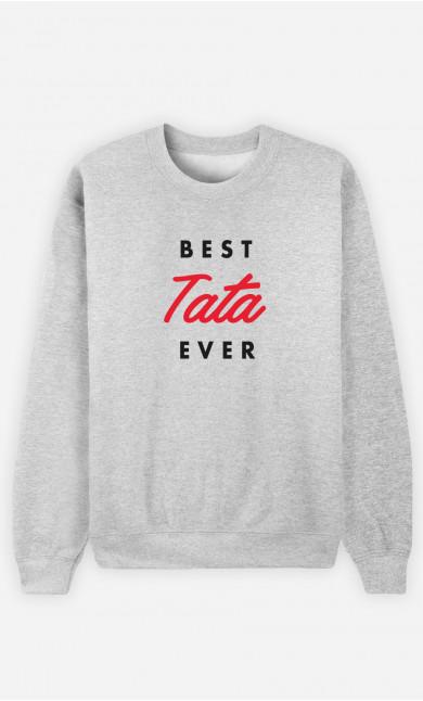 Sweat Femme Best Tata Ever