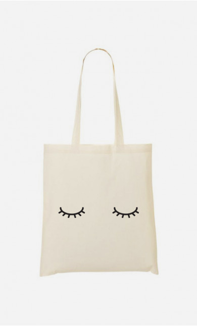 Totebag  Eyes Closed